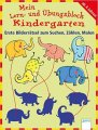 Mein Lern- und Übungsblock Kindergarten: Erste Bilderrätsel zum Suchen, Zählen, Malen
