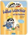 Wibo Waschbär auf der Baustelle