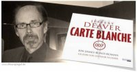 JEFFERY DEAVER: 'We always want to be the bad guys' or '007 hangovers to get CARTE BLANCHE'